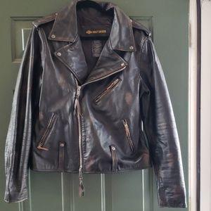 Harley-Davidson sz L Leather Jacket